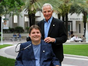 Marc Buoniconti and his father, Nick Buoniconti
